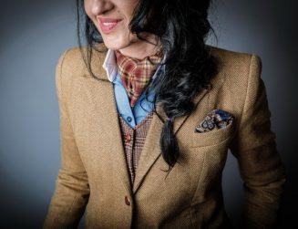 Gina Butiuc - cravata Ascot